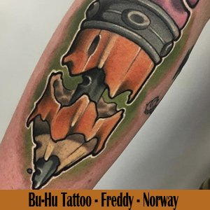 Bu-Hu Tattoo - Norway