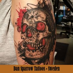 Dan Sparrow Tattoo - Sweden