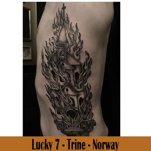 Lucky 7 Tattoo - Norway