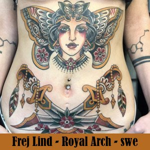 Royal Arch Tattoo - Swe