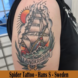 Spider Tattoo - Sweden