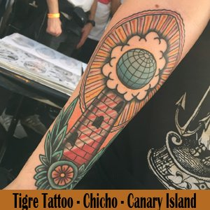Tigre Tattoo - Canary Island